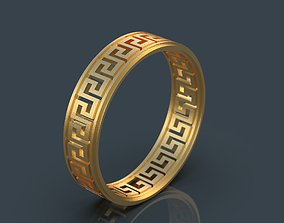 Greek ring 3D print model