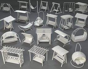 3D model Swings - 23 pieces