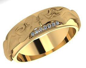 carrera wedding ring 3D print model