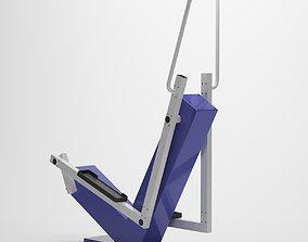 3D model Street exercise machine - Step