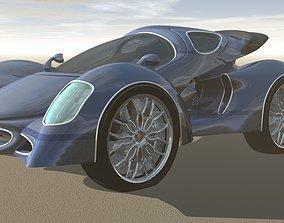 3D Proteus GT-500 Sport Model