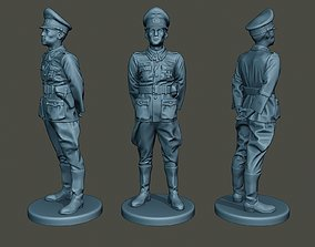 German Officer ww2 attention G5 3D print model