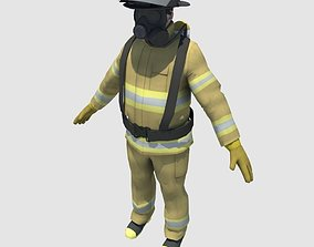 FireFighter 3D asset