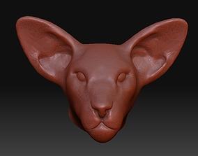 other Oriental cat head STL model