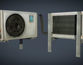 External air conditioner 1 3D asset