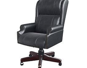 Regency Barrington Black Swivel Chair 3D