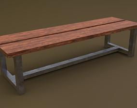 3D model Bench 23