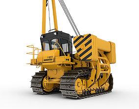 industry Komatsu D 355 C 3 3D model