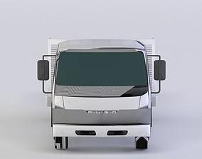 MITSUBISHI FUSO RC SET 3D MODEL game-ready