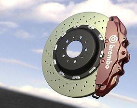 3D disc Brembo brake system
