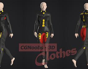 Sci-Fi Future Suit - 38 Marvelous Designer and Clo3D