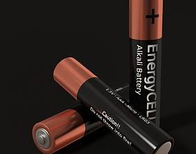 Battery AAA 3D asset