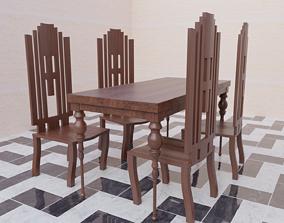3D asset House Table