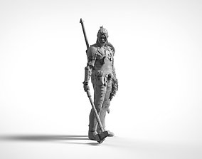 3D printable model Male Warrior Barbarian RPG Character