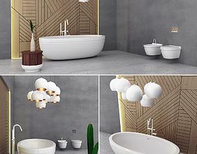 3D model Furniture set modern