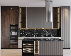 Kitchen Modern 35 3D