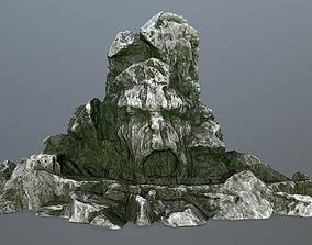 rock gate 3D model