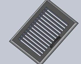 Ventilation grill 3D