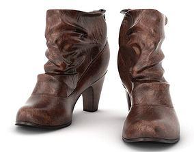 3D Brown Women s Boots