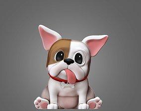 French Bulldog 3D Print Model