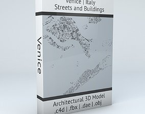 3D Venice Streets and Buildings