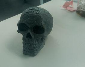 Skull herb Grinder 2 3D printable model