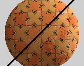 Materials 1- Brick Tile 1 PBR 3D