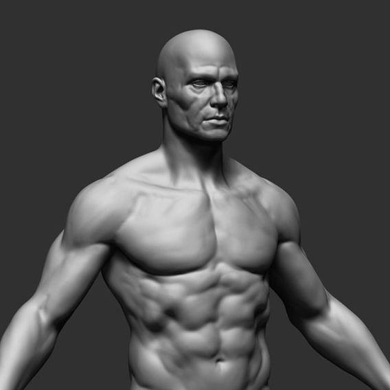 3D men