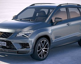 Seat Ateca Cupra 2019 3D model
