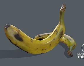 3D asset Banana photogrammetry
