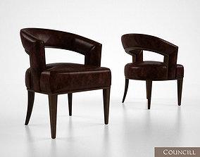 Councill Palladian chair 3D model