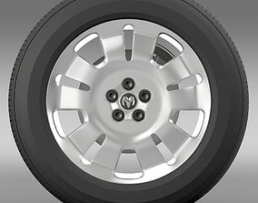 Ram Promaster City Cargo wheel 3D model