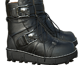 Boots gothic winter 3D