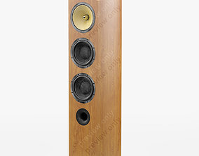 Bowers and Wilkins 804 D2 Cherrywood 3D model