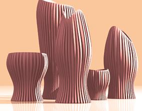 3D print model Vase Family
