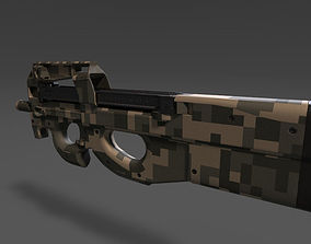 games-toys FN P90 Personal Defense Weapon 3D model PBR