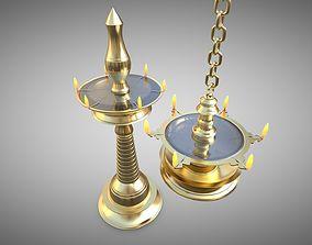 3D model Lamp temple