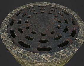 3D model realtime Manhole