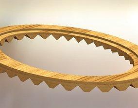 3D Oval frame