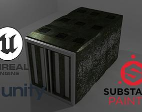3D asset Container Green