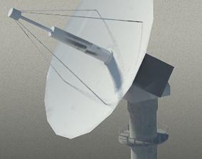 Radar turret 3D asset