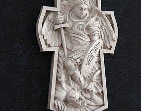 Archangel Michael lucifer 3D print model