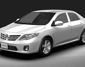 3D 2011 Toyota Corolla