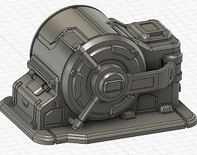 Sci Fi Safe Vault for Wargames 3D print model