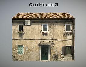 3D asset Old House 3