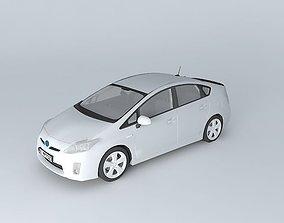 Toyota Prius XW30 2010 3D model