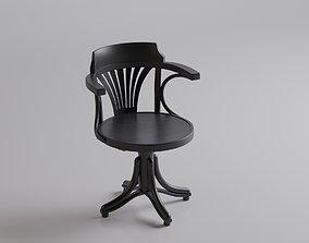 revolving armchair kontor 3D