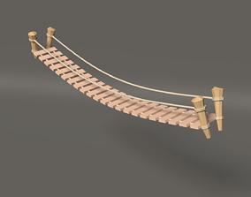 Low Poly Bridge 3D model