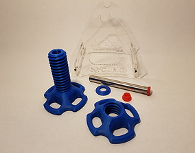 adjustable spool holder for anycubic i3 3D printable model
