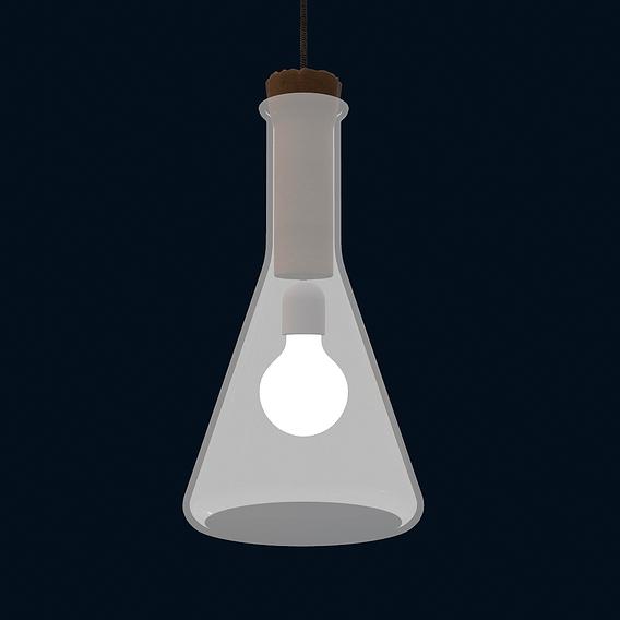 authentics labware cone pendant